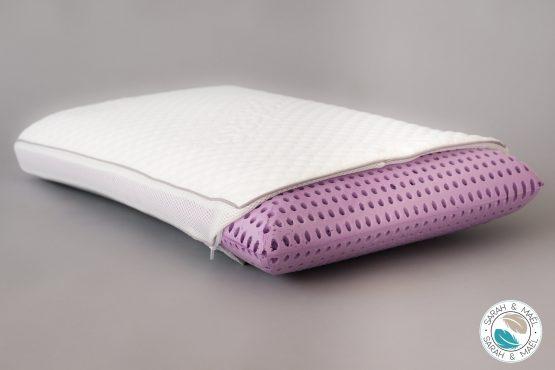 oreiller-fresh-lavande-memoire-de-forme-perforee-fabriquee-a-base-d-eau-avec-huiles-essentielles